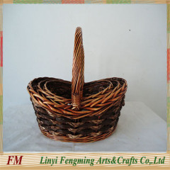 Romantic gift flower baskets