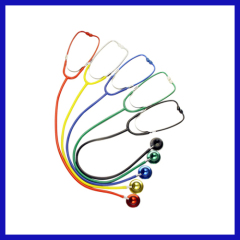 Colorful adult multifunctional dual head stethoscope