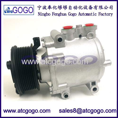A/C Compressor FOR Ford E-350 Club Wagon E-350/E-450 Super Duty 6.0L 04-07 (97564)