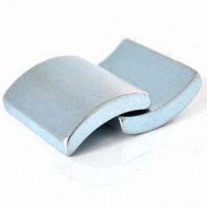 Sintered arc shape n50 neodymium magnets