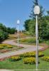 Aluminum Garden Lighting Pole