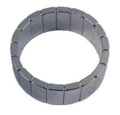 Custom made arc segment magnet