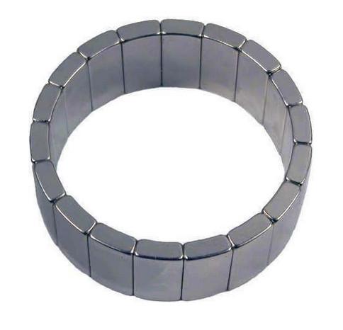 Custom made arc segment magnet