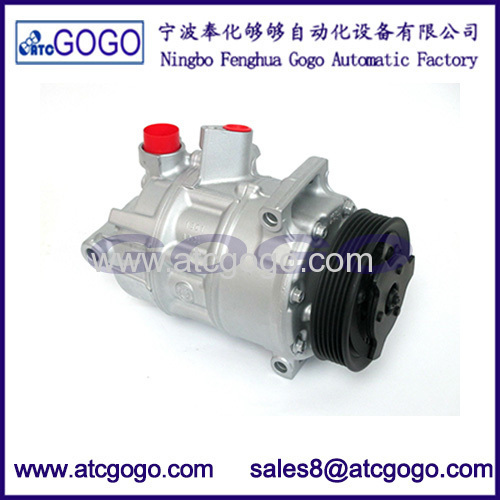 New A/C Compressor With Clutch FOR 2006-2012 Audi A3 EOS Golf GTI Jetta Passat L4 V6 OEM 1K0820808 1K0820859 1K0820803