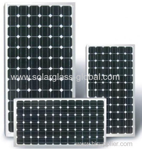 50w mono tempered solar panel