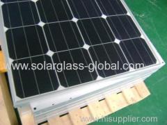 200w mono tempered solar panel