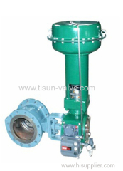 ZSHV pneumatic high performance of V type ball valve