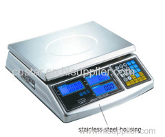 High quality stainless steel price computing scale