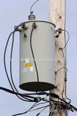 Single phase Pole-mounted distribution transformer