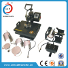 Digital 8 in 1 Combo multifunctional Heat Press Machine for T-shirt\Plate\Mug\Cap