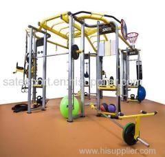 multifunctional fitness equipment of building equipment