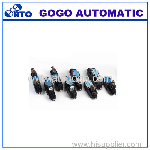 High Quality Socket Connection Type Solenoid Directional Valve