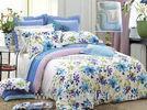 Fabrics Durable Home Modern Floral Bedding Sets , Cotton Bedding Sets
