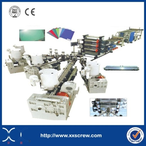 Zhoushan Manufacturer PC Sunshine Sheet Extrusion Line with 26 Years Experience