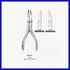 Stainless steel Surgical types of forceps for bone