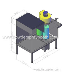 manual paiting booth system