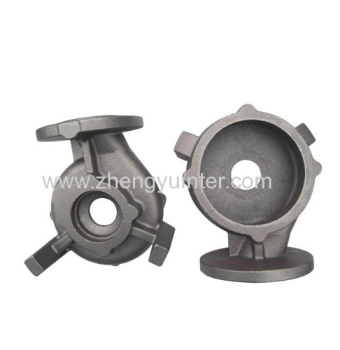Lost foam iron pump body casting parts