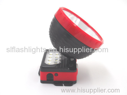 Big Plastic LED Head Lamp Dry Battery