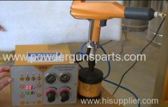 Laboratory electrostatic powder spray gun