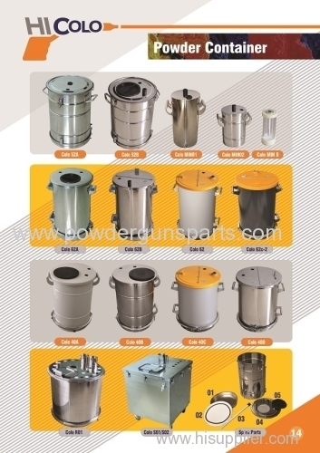 fluidizing Powder Coating Hoppers