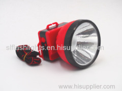 Best Plastic LED Head Flashligth Dry Battery