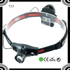 POPPAS T20 Popular XPE R5 LED 3*AAA Dry Battery Led Headlamp Suitable For Outdoor& Activities.