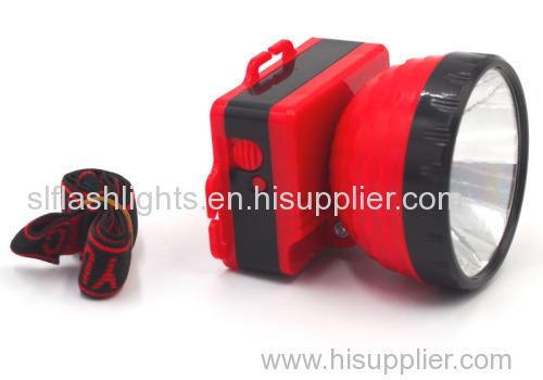 Best Outdoor Plastic LED Head Flashlight