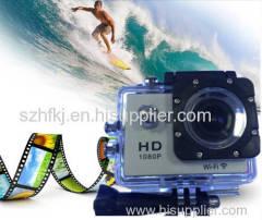HD 1080P Outdoor sports camera waterproof Mini DV wifi remote video recording