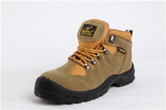 Cow Leather Safety Shoes