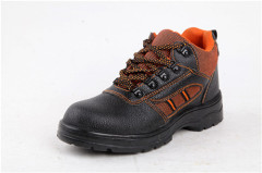 2012-2013 best selling steel topcaps safety shoes of Rubber sole
