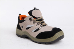 Rubber bottom safety shoes