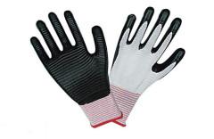 13 Nadel Nylon / Polyester-Folie Handschuhe Latex-Handschuhe Punktwulst Handschuhe, PU-Handschuhe, PVC-Handschuhe