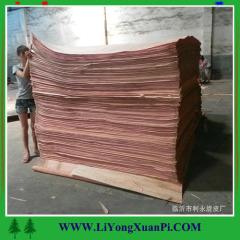 Mersawa face veneer with cheap price/oak face veneer factory directly sales