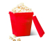 As seen on TV Popcorn Magic silicone popcorn microwave baking cup