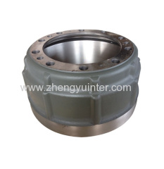 Grey Iron brake drum casting parts for Trucks OEM