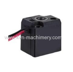 Solenoid valve coil machine