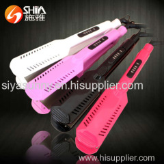 LED display protein personalized hair straightener new hair flat iron with five teeth and seven teeth