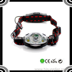 R2 & 1w Headlight Type and Fishing Camping Hiking Emergency Unique Design Led Head Lamp ACK-4023