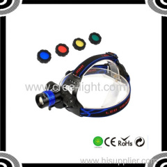 ACK-4032 Four Colors 500lm Front Bicycle &Headlamp T6 High Power Lights