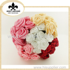 High quality ribbon artificial flower