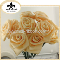 Artificial rose flower for wedding