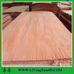 0.3mm keruing wood veneer gurjan face veneeer with grade A face veneer for plywood face veneer