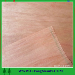 Cheap wood veneer face for plywood