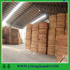 1300x2500x0.2-0.5mm rotary cut plywood usage gurjan veneer/bintangor veneer/keruing veneeer with competitive price