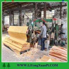 solid paper thin wood veneeer