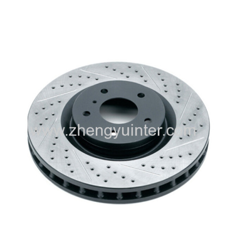 Grey iron brake disc Casting Parts for Toyota automobile OEM