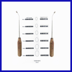 General use wooden handle 30CM Bone curettes