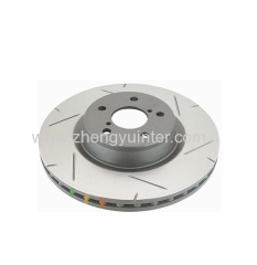 Grey Iron GM Brake Rotors Casting Parts