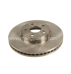 Grey iron Brake Disc Casting Parts For Toyota Land Cruiser OEM