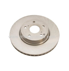 Grey Iron Brake Rotor Casting Parts for LADA SAMARA